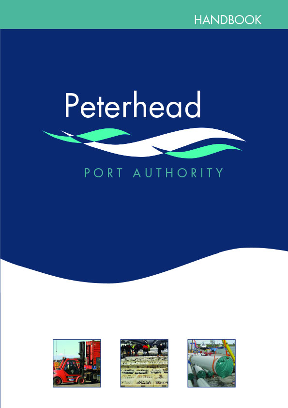 Peterhead Port Authority Hanbook cover