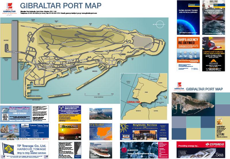 Gibraltar Port Map image 2