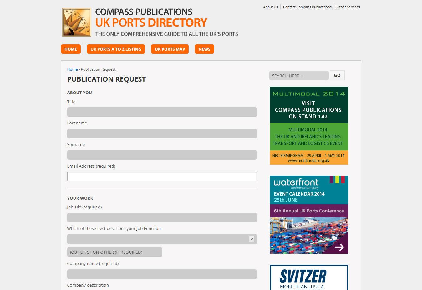 UK Ports Directory - Compass Publications