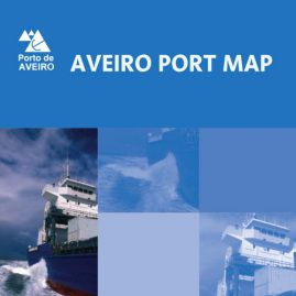 Aveiro Wall Map