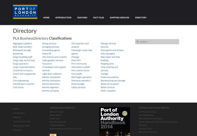 PLA 2014 Handbook website