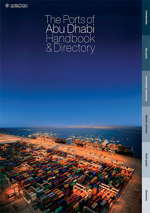 Abu Dhabi Ports Directory and Handbook Cover