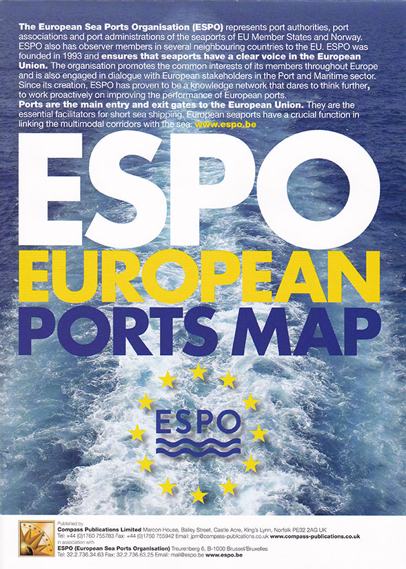 ESPO European Ports Map